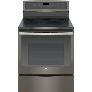 "GE Profile30"" Free-Standing Electric Convection Range"