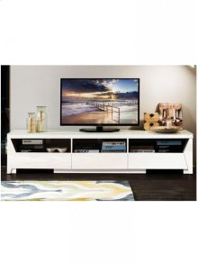 TV Stand MDF White Lacquer