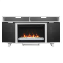 Enterprise TV Stand with Electric Fireplace