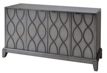 Westgate 4 Wave Pattern Door Slate Grey Sideboard