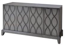 Westgate 4 Wave Pattern Door Slate Grey Sideboard