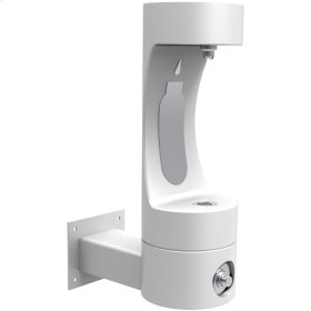 Elkay Outdoor ezH2O Bottle Filling Station Wall Mount, Non-Filtered Non-Refrigerated Freeze Resistant White