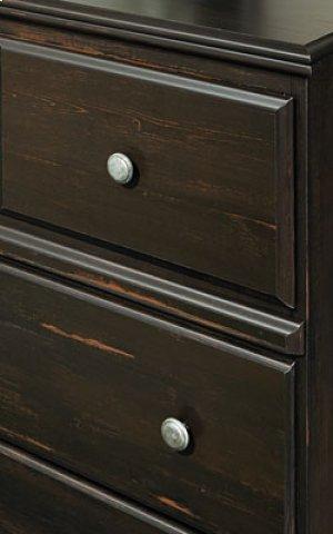 2 drawer dresser and mirror-MANHATTAN CLOSEOUT
