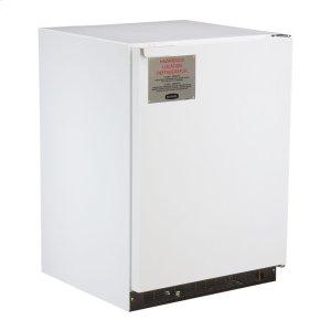Marvel24-In Hazardous Location Refrigerator Freezer with Door Style - White