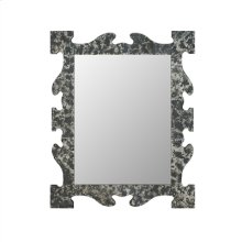 Hand Beveled Antique Finished Mirror Frame, Mirror Glass