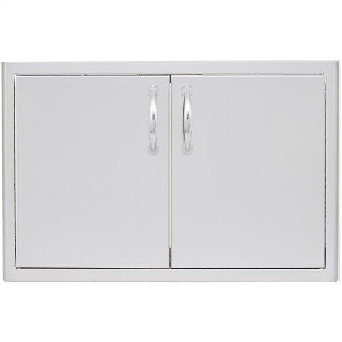 Blaze 40 Inch Double Access Door with Paper Towel Holder