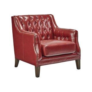 Red Quinton Club Chair