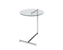 Morrison End Table - Stainless Steel
