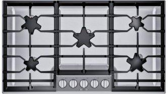 36-Inch Masterpiece(R) Pedestal Star(R) Burner Gas Cooktop