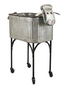 Ewe Metal Planter Stand