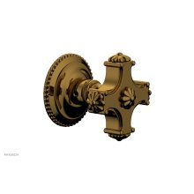 MARVELLE Volume Control/Diverter Trim - Blade Handle 162-35 - French Brass
