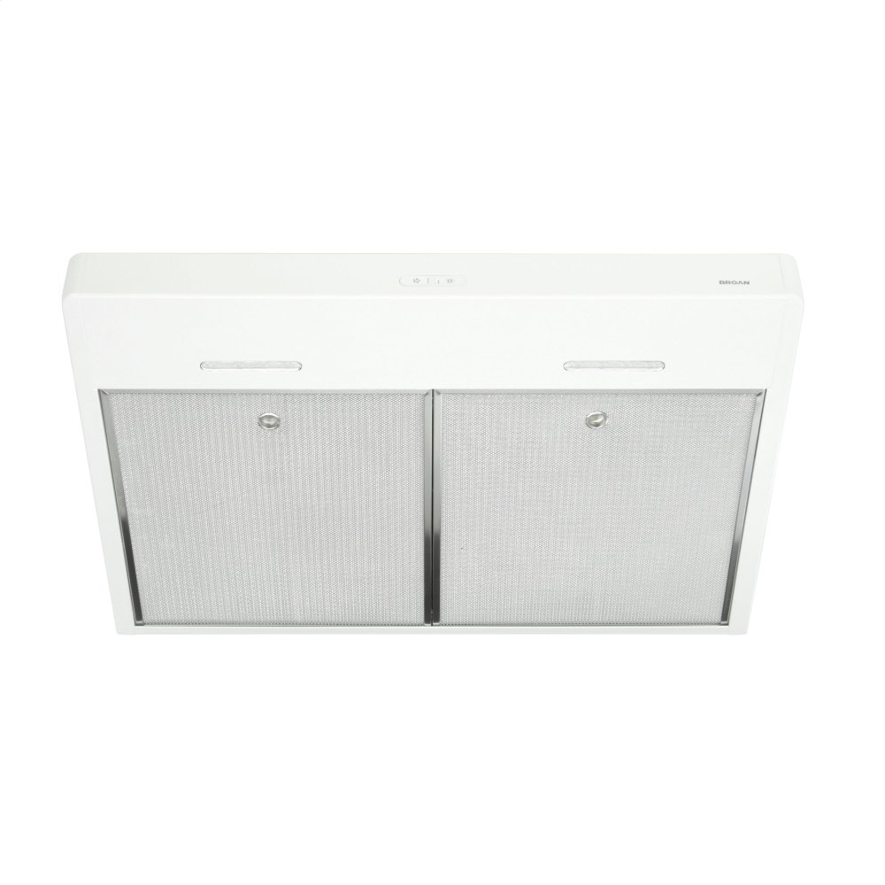 Tenaya 30-inch 300 CFM White Under-Cabinet Range Hood with LED light  WHITE