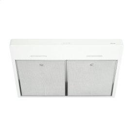 Tenaya 36-inch 300 CFM White Under-Cabinet Range Hood with LED light