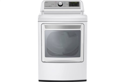 7.3 cu. ft. Super Capacity Electric Dryer with Sensor Dry Technology