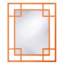 Lois Mirror - Glossy Orange