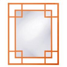 Lois Mirror - Glossy Orange