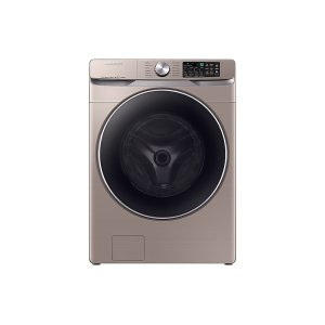 Samsung AppliancesWF6300 4.5 cu. ft. Smart Front Load Washer with Super Speed in Champagne
