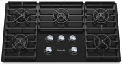 36-Inch 5 Burner Gas Cooktop, Architect® Series II - Black Product Image