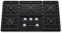 36-Inch 5 Burner Gas Cooktop, Architect® Series II - Black
