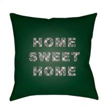 "HOME SWEET HOME PLAID-018 20"" x 20"""