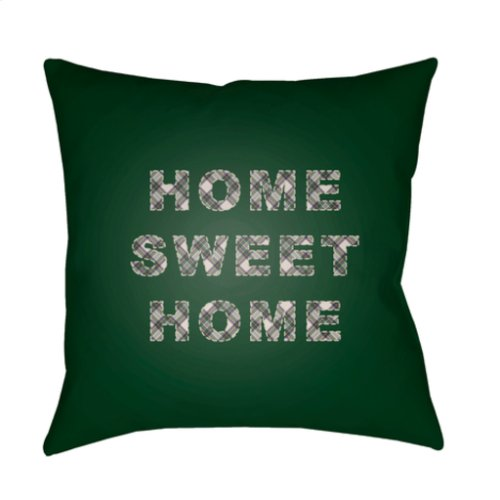 "HOME SWEET HOME PLAID-018 20"" x 20"""