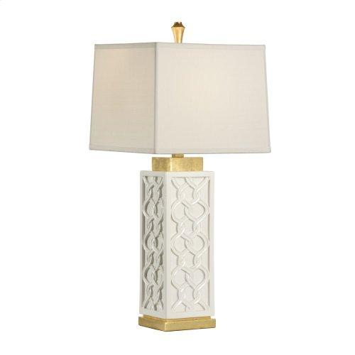Portico Lamp - White