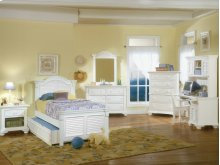 Cottage Traditions Youth Full Panel Bed