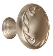 Ornate Knob A3650-38 - Satin Nickel
