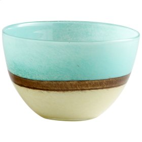 Sm Turquoise Earth Vase