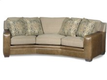 Hanley Stationary Angled Sofa 8-Way Tie