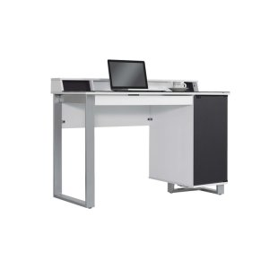 Style and technology come together to form this contemporary style desk. Th... -