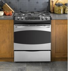 "GE Profile Series 30"" Dual Fuel Slide-In Range***FLOOR MODEL CLOSEOUT PRICING***"