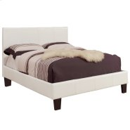 """Volt 54"""" Bed in White Product Image"""