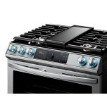6.0 Cu Ft. Smart Slide-In Gas Range With Flex Duo(tm), Smart Dial & Air Fry In Stainless Steel