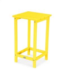 """Lemon Long Island 26"""" Counter Side Table"""