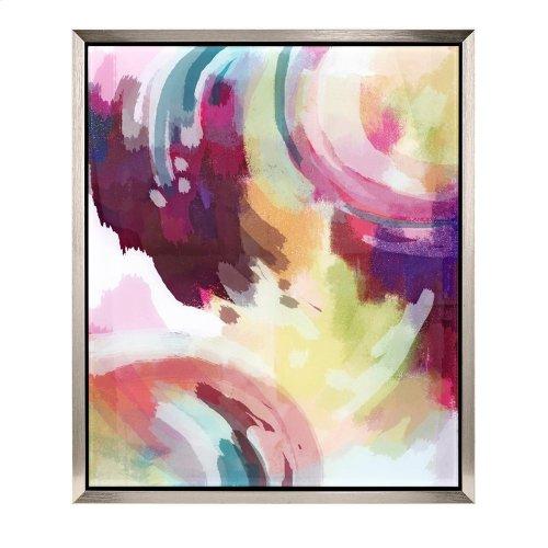 TY Abstract Acrylic Framed Wall Decor