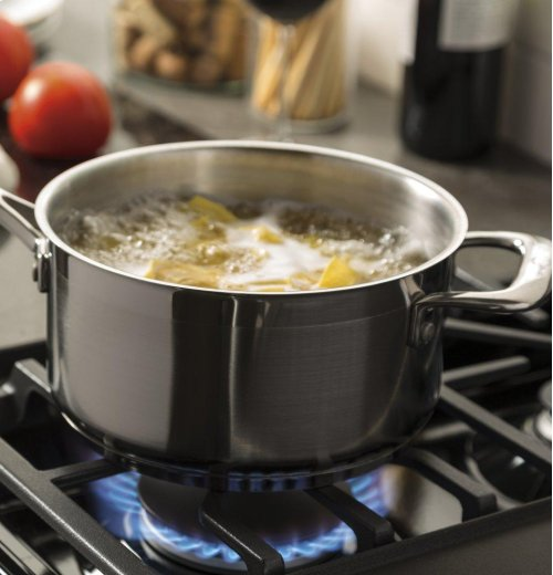 """GE® 30"""" Free-Standing Gas Double Oven Convection Range"""