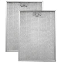 "Aluminum Replacement Grease Filter with Antimicrobial Protection for 36"" QP2 Series"