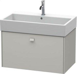 Vanity Unit Wall-mounted, Concrete Gray Matt Decor Product Image