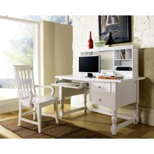 "Bella Desk, White, 54""x30""x30"""