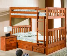 Full/Full Bunk Bed