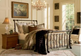 Legion Bed -  Available in Queen Size and King Size.  Also available as Headboard only.