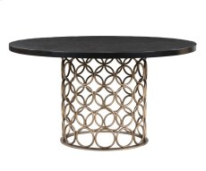 Valentina Brass Round Dining Table Product Image