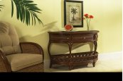 Regency Half-Moon Console w/Drawer