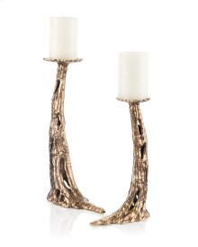 Set of Two Carlton Candleholders