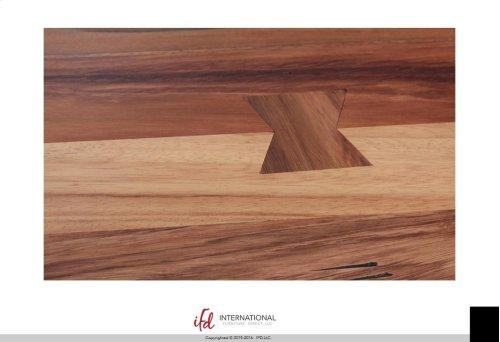 Breakfast & Bedroom Bench All wood, w/Shelf - KD System