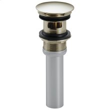 Polished Nickel Push Pop-Up with Overflow