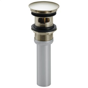 Polished Nickel Push Pop-Up with Overflow Product Image