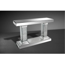 Modrest Triomphe Mirrored Console Table