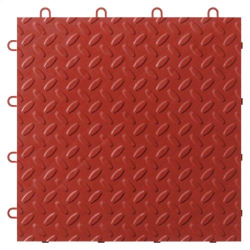"Gladiator® 12"" x 12"" Tile Flooring (48-Pack) - Red Tread"